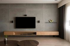 164 best tv wall design and ideas -page 30 Tv Wall Design, House Design, Design Design, Design Ideas, Home Living Room, Interior Design Living Room, Living Room Tv Unit Designs, Tv Wall Decor, Wall Tv
