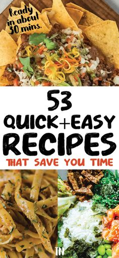 Quick and easy dinner ideas   quick dinner recipes anyone can cook tonight   how to save time in the kitchen