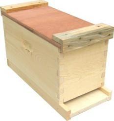 5 Frame Wood NUC Box