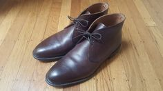 Meermin Dark Brown Country Grain Chukkas Size 9 $180 - Grailed