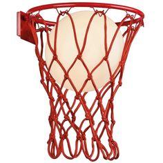 Seinävalaisin Basketball Korkeus 37cm lev. 30cm Ulkonema 32cm 1x E27 / max 20W led Mantra