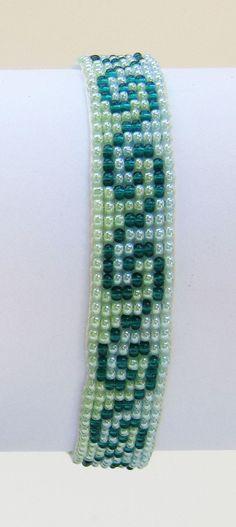 Ocean Wave Loom bracelet