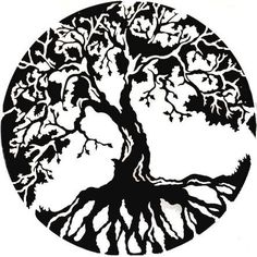 a rowan tree tattoo - magical and mystical rowan tree