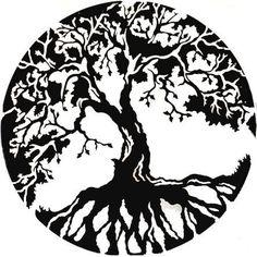 a rowan tree tattoo - magical and mystical rowan tree