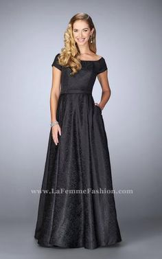 c9b085cc63 La Femme Evening 24859 Susan Rose Gowns and Dresses-Fort lauderdale Prom
