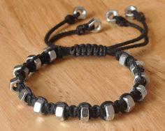 hexnut bracelet - cutoutandkeep.net