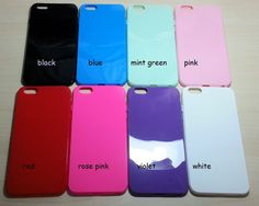For Apple iphone 6 Plus (5.5 inches) Candy Color TPU Soft Silicone case