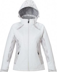 quality design 8d492 55db0 Zuzify Ladies On-Course Insulated Parka with Print Inserts. QI1167, Size   XXL