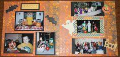 aden + anais swaddle blankets and Ergo 360 accessories by GrowingUpBaby Baby Scrapbook, Scrapbook Pages, Halloween Scrapbook, Swaddle Blanket, Holidays Halloween, Scrapbooking Ideas, Creative, Cards, Fun