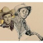 Roy Rogers by Betty Harper - Roy Rogers was a childhood Hero.