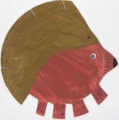 """""""Paper Plate Hedgehog"""""""