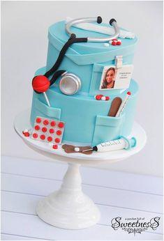 nurse inspired cake