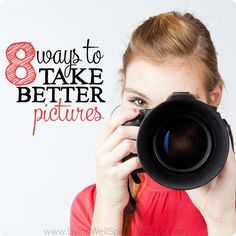 Great photos aren't as impossible as you might think, especially with today's technology! Don't miss these 8 smart but simple ways to take better pictures.
