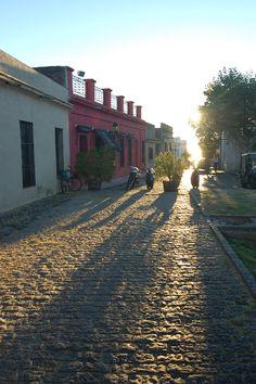 Historical city. Colonia del Sacramento, Uruguay.