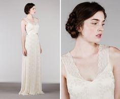 Sabemos que, quando o assunto é vestido de noiva, a imagem que nos vêm à mente é de vestidos rendados e ultra sofisticados. Mas se engana quem pensa que modelos mais simples não são sinônimos de elegância. Tão lindo quanto um vestido extravagante, o vestido com estilo simples encanta as noivas minimalistas e