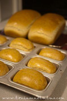 Whole Wheat Bread (for KitchenAid Mixer)  #food  #recipe #bread #whole_wheat_bread