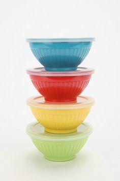 bowls & storage.