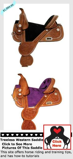A #treelesswesternsaddle built for the ultimate closeness of the barrel racing horse and rider.