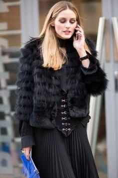 Olivia Palermo - Fall 2016 London Fashion Week street style - February 2016  - HarpersBAZAAR.co.uk