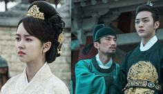 Goblin Stills: Kim So Hyun & Kim Min Jae as Queen & King + Lee Dong Wook & Gong Yoo | Couch Kimchi