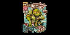 Amazing Ninja Dude T-Shirt by DonovanAlex | TeeFury