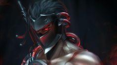 Blackwatch Genji Uprising Skin Wallpaper