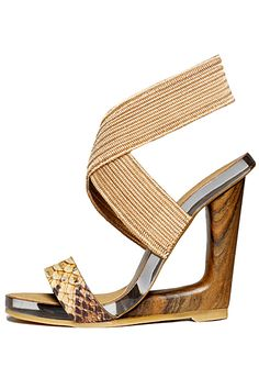 Donna Karan - Shoes - 2012 Spring-Summer  [LOVE these!!! <3]