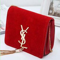 Mercancías de la calidad del cuero genuino bolsas bolsos mujeres marcas famosas mujeres de monederos y los bolsos de tarde de la señora de bolso de hombro