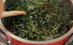 Bela Cozinha - Ep. 12 - Integral - Refogado de talo e folha de beterraba (Foto: Reproduo / GNT)