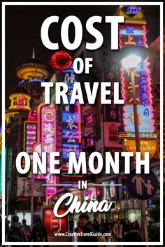How much does China cost to travel? Here is how much we spent in one month travelling around China on a comfortable budget for two.