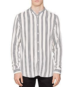 Reiss Yorker Stripe Slim Fit Button-Down Shirt - White Button Downs, Button Down Shirt, Reiss, Buttons, Slim, Mens Fashion, Shirt Dress, Shirt Men, Fitness