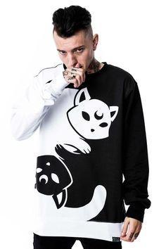 Yin Yang Sweatshirt [B]/Unisex Fit