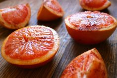 Oven-Roasted Grapefruit