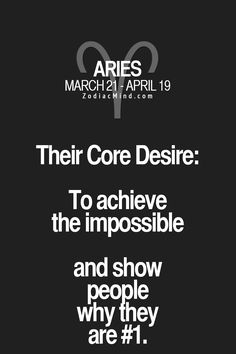 Your signs core desire!