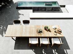 Die Tribu Neuheit in 2014: Vis à Vis #lounge #garden #outdoor #furniture