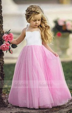 Pink-White Patchwork Grenadine Draped Backless High Waisted Daddy Daughter Dance Cute Maxi Dress Source by rosechoics daughter Dance dresses Cute Maxi Dress, Tulle Dress, Little Girl Dresses, Flower Girl Dresses, Princess Dresses, Daddy Daughter Dance Dresses, Robes Tutu, Dusty Rose Dress, Girls Dresses Online