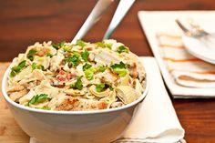 Artichoke Lemon & Chicken Pasta