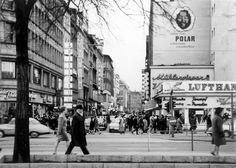 1968 Hamburg - Große Bleichen Ecke Jungfernstieg. ☺
