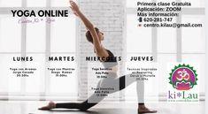 Poquito a poco vamos rellenando nuestra Agenda Online! ☺️🤸🏻♀️ . . De Lunes a Jueves tenemos clase de yoga por la tarde y los Miércoles una clase a la mañana 10:30hs 🧘♀️🧘♂️ 🕉  La primera clase es GRATUITA‼️‼️ . . Pídenos más información al : . 📲 620-281-747 💌 centro.kilau@gmail.com  #agendaonline #agendaonline🤳 #onlineagenda #centrokilau #yogaonline #yogaonlineclasses #clasesonline #onlineyogaclasses #yogaclassesonline #practicayoga #practicayogacambiatumundo #practicayogaencasa…