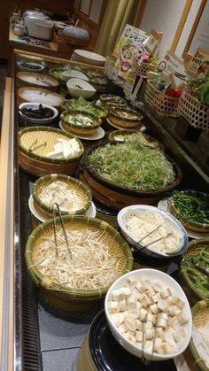 Ingredients for Japanese shabu shabu #veggies #shabushabu #japan #food #eats #travel