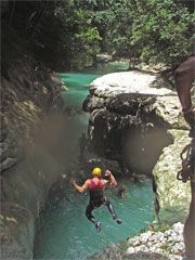 Planning on doing this at the 27 waterfalls - Dominican Republic