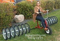 15 Wheel Cycle. We build tricycles & bicycles for kids and adults with special needs. HigleyWelding.com  Ph 763-438-0356