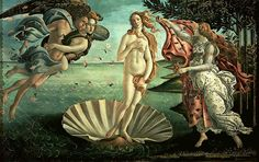 The Birth of Venus- Botticelli