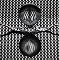 """phazephoto: """"Sphere 'n Forks Cutlery Art ©Howard Ashton-Jones 2016 """" Photography Ideas At Home, Glass Photography, World Photography, Photography Awards, Photography Projects, Still Life Photography, Abstract Photography, Photography Tutorials, Macro Photography"""