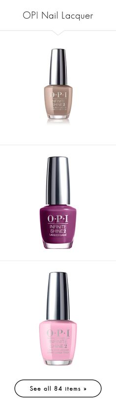 """""""OPI Nail Lacquer"""" by haikuandkysses ❤ liked on Polyvore featuring beauty products, nail care, nail polish, nail, glossy nail polish, opi nail varnish, shiny nail polish, opi nail care and opi nail polish"""