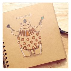 Dalek Baymax by DeeeSkye NNNOOOOOOOOOOOOOOO!!!!!!!!!!! WHAT HAVE YOU DONE!!!!!!!!! baymax....... D':
