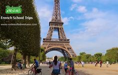 Enjoy your French school trips & educational tours to France with RocknRoll Adventures. We believe, in our school trips to France, you will learn loads of new things. French School, Travel Tours, France Travel, Trips, Adventure, Education, Book, Viajes, Traveling