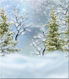 View album on Yandex. Christmas Frames, Christmas Scenes, Christmas Paper, Vintage Christmas, Frozen Background, Christmas Background, Paper Background, Winter Scenery, Winter Trees