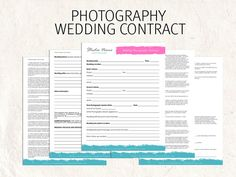 Free Online Contracts Templates Who Is My Wedding Photography Client If Someone Else Pays .