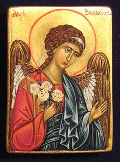 Guarding Angel Icon With 2 Blessing Oil Random Pocket Russian Orthodox Icon